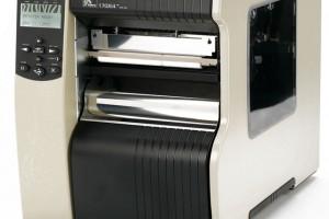 Căn chỉnh nhãn bằng tay máy in Zebra 170Xi4