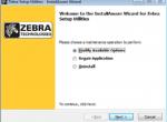 Cài driver máy in ZT510 trên Zebra Setup Utilities