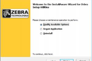 Cách cài driver máy in Zebra bằng file inf