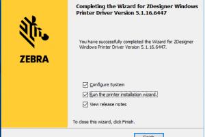 Cách cài driver cho máy in mã vạch Zebra