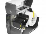 Căn chỉnh nhãn bằng tay máy in ZT230