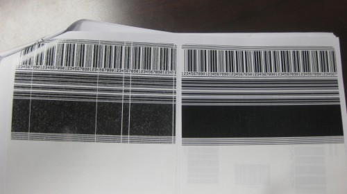 barcode issues